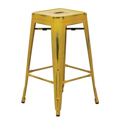 Fineview 26 Bar Stool Finish: Antique Yellow