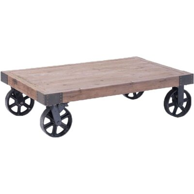 Lourenco Coffee Cart Table