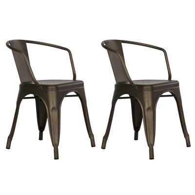 Buellton Arm Chair Finish: Bronze