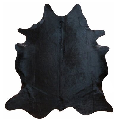 Glendale Brazilian Cowhide Natural Black Area Rug