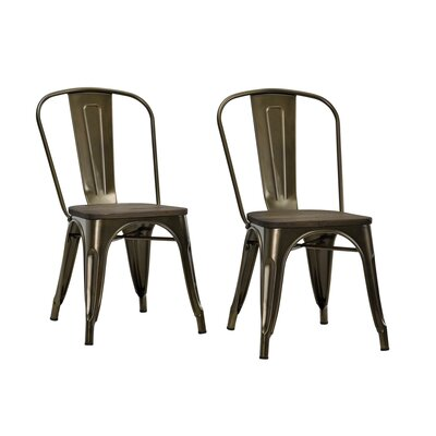 Fortuna Side Chair Finish: Bronze