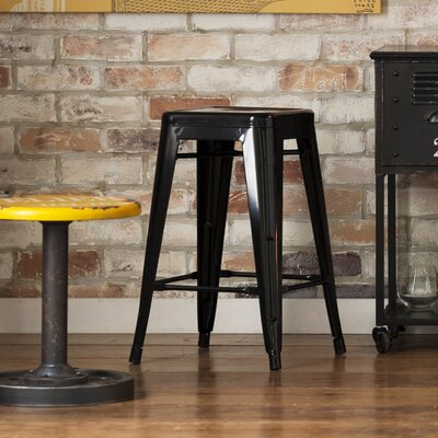 Delavan 24 Bar Stool Finish: Black