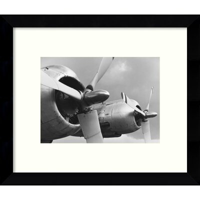 Constellation Props & Nacelles Airplanes Framed Photographic Print TADN4815 31385192