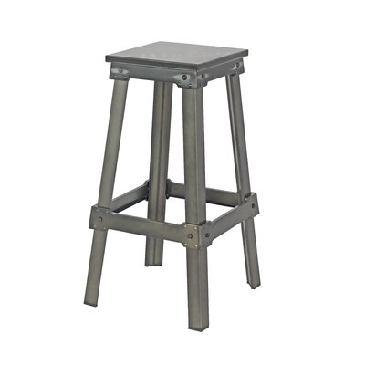 Michaela 29.5 Bar Stool Seat Color: Black