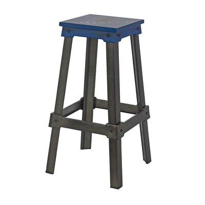Michaela 29.5 Bar Stool Seat Color: Blue