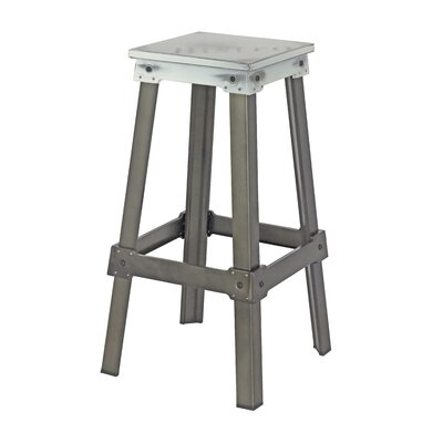 Michaela 29.5 Bar Stool Seat Color: White