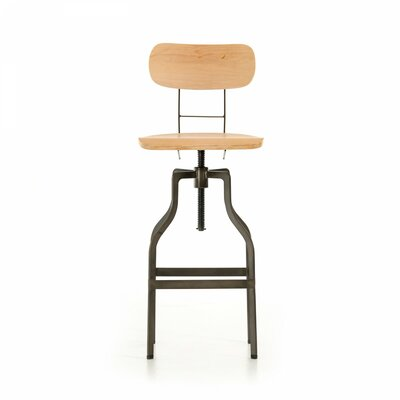 Elmhurst Adjustable Height Swivel Bar Stool