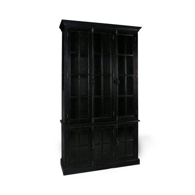 Desiree China Cabinet Color: Black