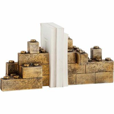 17 Stories Leggo Gold Book Ends
