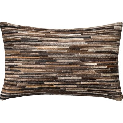 Marius Lumbar Pillow Color: Brown
