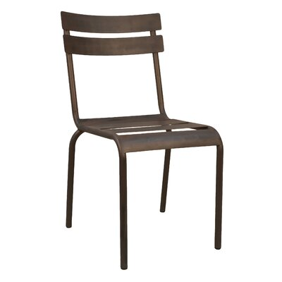 cascadera side chair finish industrial dining room side chair