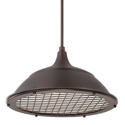 Sondra 1-Light Bowl Pendant Finish: Burnished Bronze