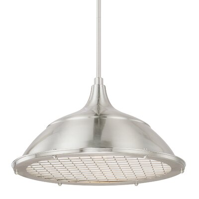 Datura 1-Light Bowl Pendant Finish: Brushed Nickel