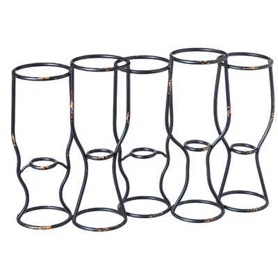 Vera 5 Bottle Tabletop Wine Rack