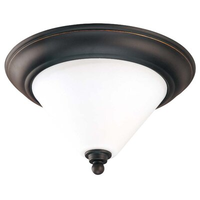 Leadbetter Flush Mount Size: 6.75 H x 11 W x 11 D