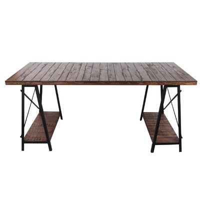 Chadbury Iron and Wood Dining Table
