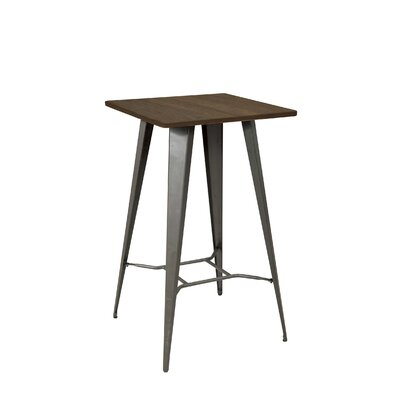 Peetz Pub Table Color: Gunmetal