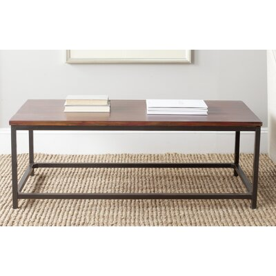 Imperial Beach Alec Coffee Table Color: Distressed Red Barn