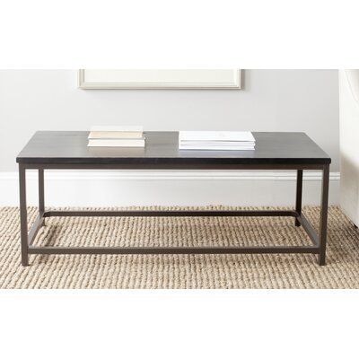 Imperial Beach Alec Coffee Table Finish: Distressed Black