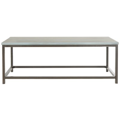 Imperial Beach Alec Coffee Table Finish: Barn Blue