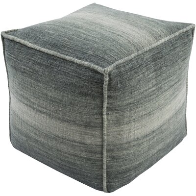 Somers Pouf Ottoman Upholstery: Charcoal