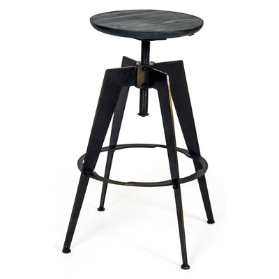 Vineland Adjustable Height Swivel Bar Stool