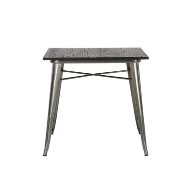 Fortuna Dining Table Color: Metallic