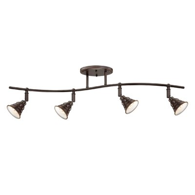 Brushton 4-Light Ceiling Track Light