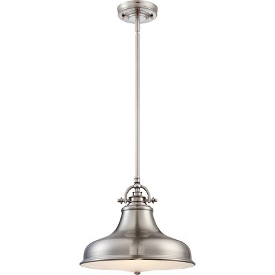 Lumley 1-Light Mini Pendant Finish: Imperial Silver