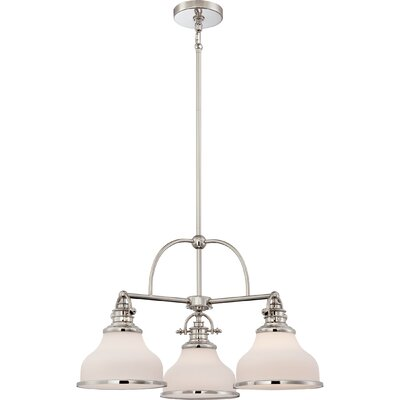 Attles 3-Light Bowl Pendant Finish: Imperial Silver