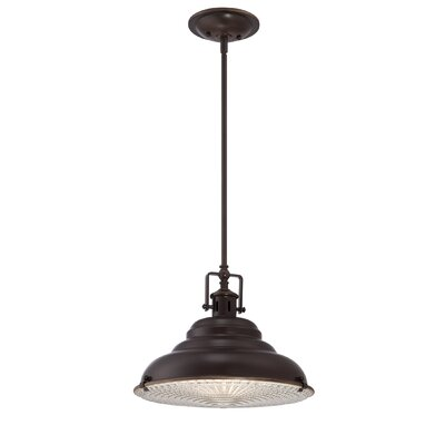 Brushton 1-Light Mini Pendant