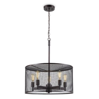 Cooper 5-Light Drum Pendant
