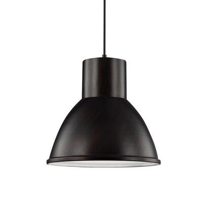 Cardwell 1-Light Mini Pendant Finish: Burnt Sienna, Bulb Type: 100W A19 Medium Bulb
