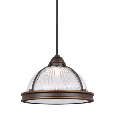 Denton Bowl Pendant Finish: Autumn Bronze