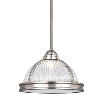 Mariel Bowl Pendant Finish: Brushed Nickel