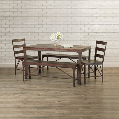 Dikili 5 Piece Dining Set