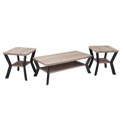 Lysia 3 Piece Coffee Table Set