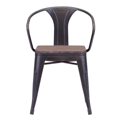 Carmel Side Chair Finish: Rustic Wood