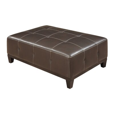 Van Reipen Cocktail Ottoman Upholstery: Walnut Brown