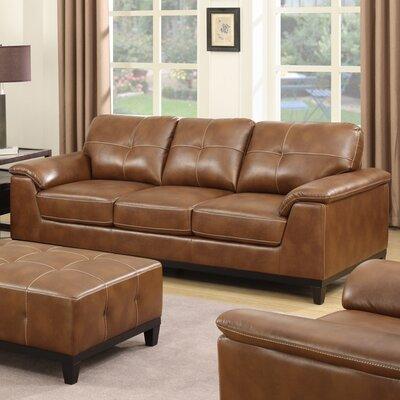 Van Reipen Standard Sofa Upholstery: Chestnut