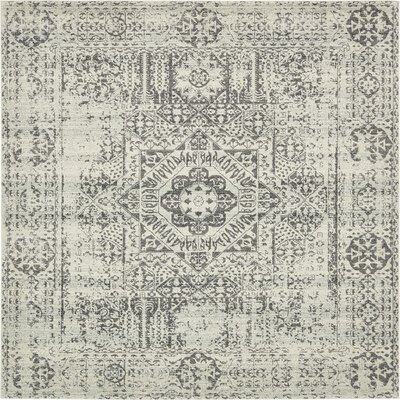 Cole Beige Area Rug Rug Size: Square 84