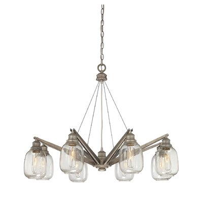 Fall River 8-Light Sputnik Chandelier