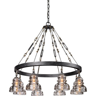 Augustina 8-Light Shaded Chandelier