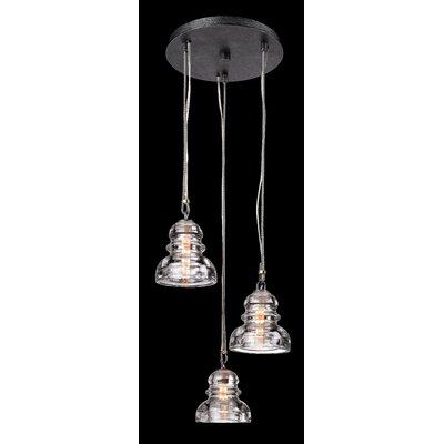 Agustina 3-Light Cascade Pendant