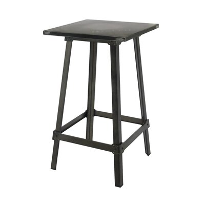 Elena Pub Table Color: Black