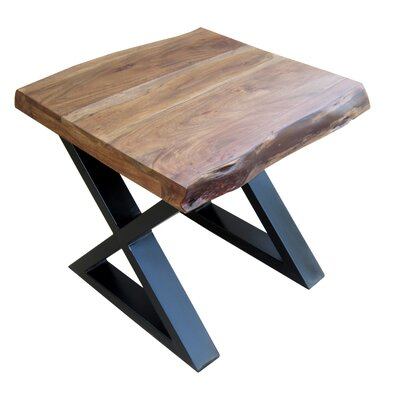 Krysta X/Cross Legs End Table