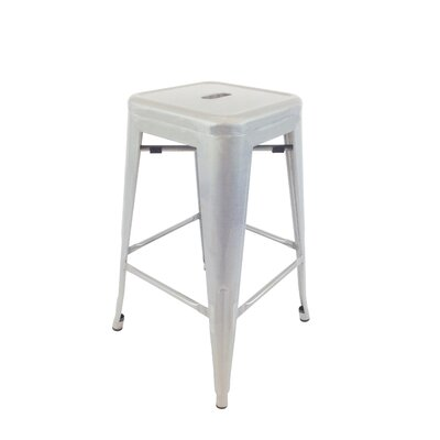 Abron 30 Bar Stool (Set of 4) Upholstery: Natural