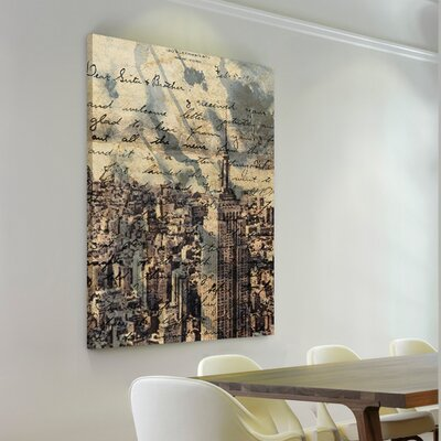 'The Empire' Graphic Art on Wrapped Canvas WLFR2441 39940972