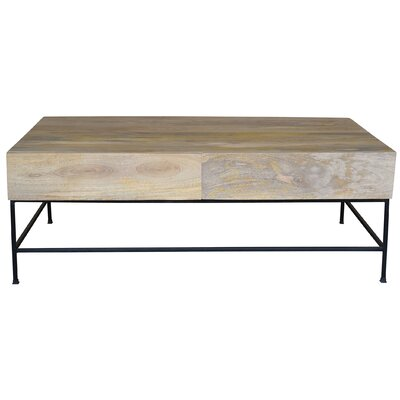 Stefania Coffee Table with Drawers