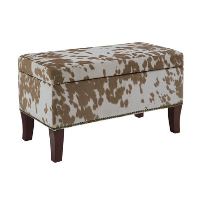 Adelynn Udder Madness Palomino Storage Ottoman Upholstery: Light Brown